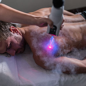 Localized Shoulder relief with Cryotherapy